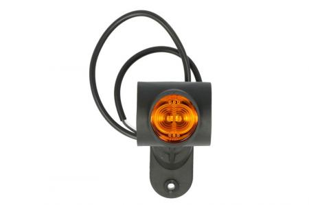 Lumini marcaj dreapta, portocaliu/rosu/alb, LED, suprafata, lungime furtun 500, brat mediu-lung, 12/24V [2]