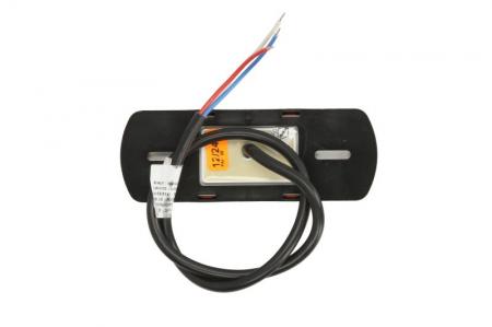 Lumini marcaj spate stanga/dreapta portocaliu, LED, inaltime 44; latime 122; adancime 19, suprafata, lungime furtun 500, 12/24V cu functie semnalizator , reflectorizant1