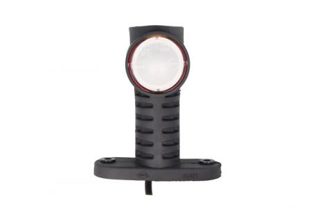 Lumini marcaj spate stanga/dreapta portocaliu/rosu/alb, LED, inaltime 100; latime 55; adancime 117,5, suprafata, lungime furtun 500, brat lung 12/24V2