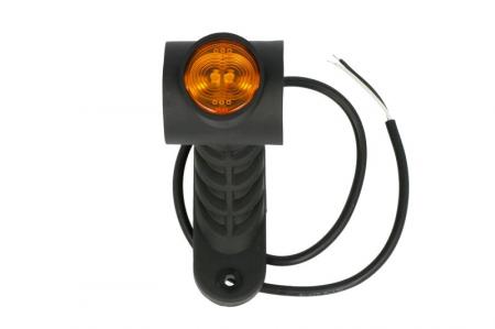Lumini marcaj stanga, portocaliu/rosu/alb, LED, suprafata, lungime furtun 500, brat mediu-lung, 12/24V2