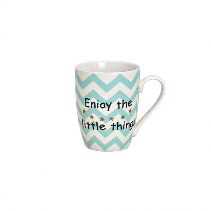 Cana ceramica Enjoy the little things , 300 ml [0]