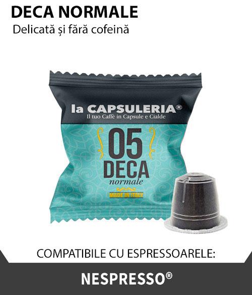 Cafea Deca Normale, 10 capsule compatibile Nespresso [0]