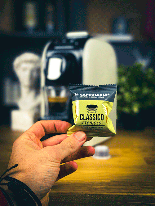 Cafea Classico Cremoso, 10 capsule compatibile Capsuleria [1]