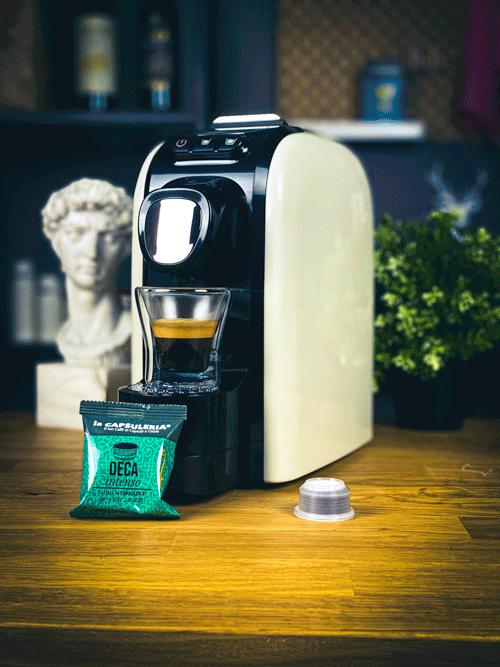 Cafea Deca Intenso, 100 capsule compatibile Capsuleria [2]