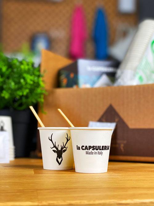 Kit Accesorii Cafea, Eco - Zahar, Palete cafea, Pahare - Capsuleria [2]