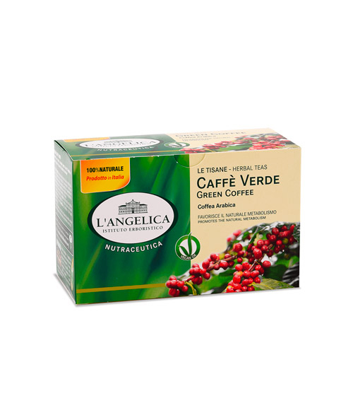 Ceai de cafea verde, 20 de pliculete, Angelica [1]