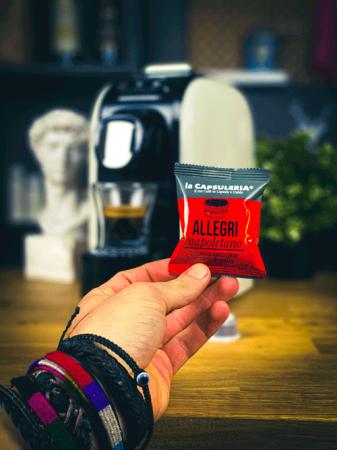 Cafea Allegri Napoletano, 100 capsule compatibile Capsuleria [1]