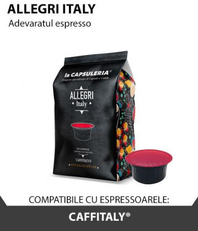 Cafea Allegri Italy, 10 capsule compatibile Caffitaly - Capsuleria [0]