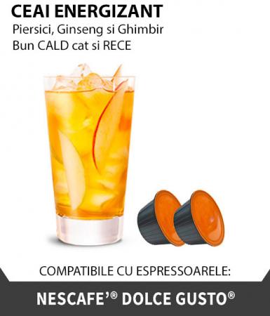 Ceai Energizant, 10 capsule compatibile Dolce Gusto - Capsuleria [0]