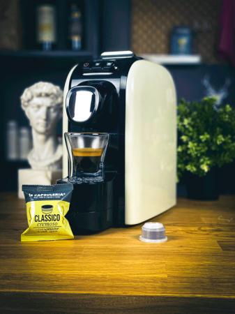 Cafea Classico Cremoso, 100 capsule compatibile Capsuleria [2]
