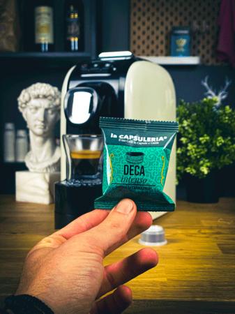 Cafea Deca Intenso, 100 capsule compatibile Capsuleria [1]