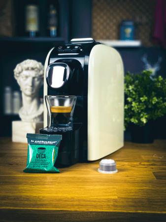 Cafea Deca Intenso, 10 capsule compatibile Capsuleria [2]