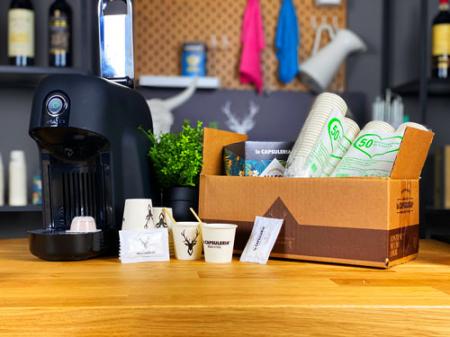 Kit Accesorii Cafea, Eco - Zahar, Palete cafea, Pahare - Capsuleria [1]