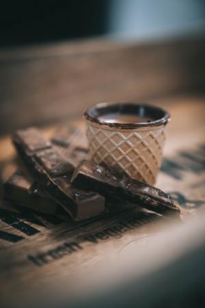 Pahare comestibile Chocup MAXI, Napolitana si Ciocolata, 2 BUC - Capsuleria [3]