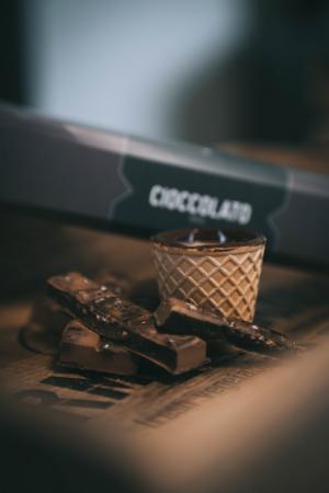Pahare comestibile Chocup mini, Napolitana si Ciocolata, 5 BUC - Capsuleria [7]