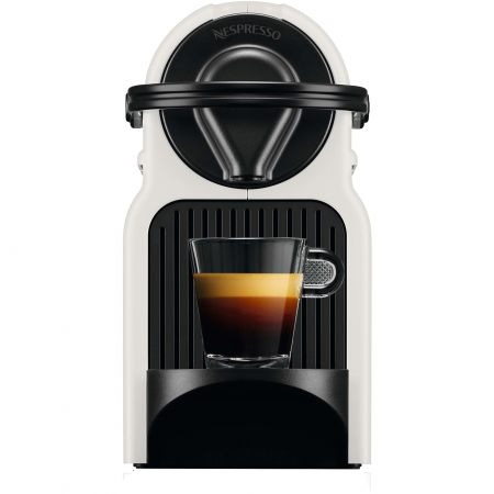 Espressor Nespresso Inissia C40-EU-WH-NE3, 19 bari, 1260 W, 0.7 l, Alb + 50 capsule cadou [1]