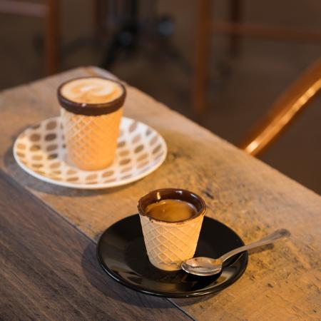 Pahare comestibile Chocup MAXI, Napolitana si Ciocolata, 2 BUC - Capsuleria [5]
