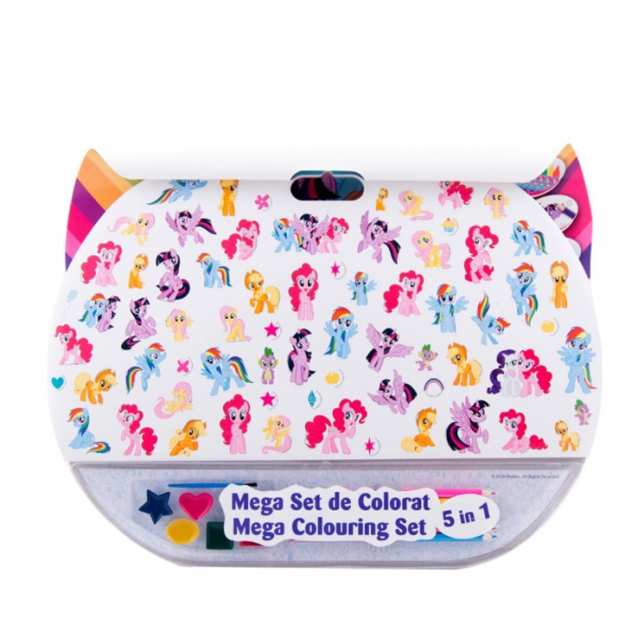 Mega set de colorat 5 in 1 My Little Pony 1