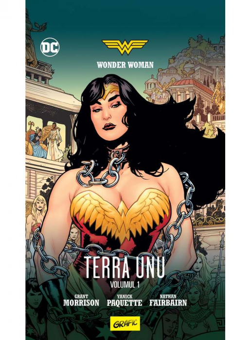 Wonder Woman. Terra Unu. Volumul 1 0