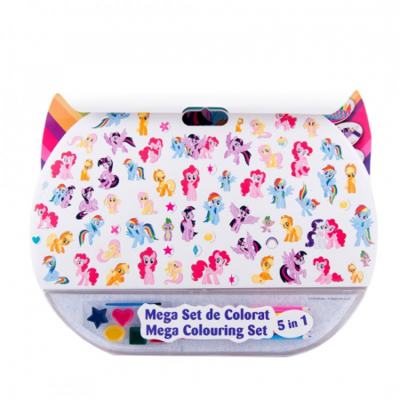 Mega set de colorat 5 in 1 My Little Pony1