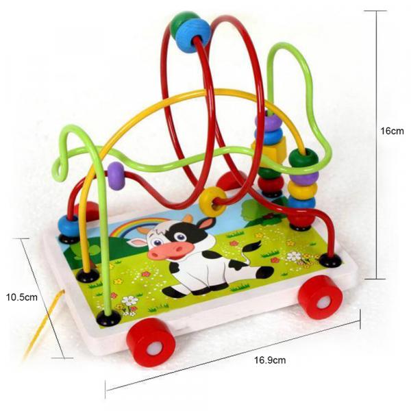 Labirint din lemn jucarie Montessori [1]