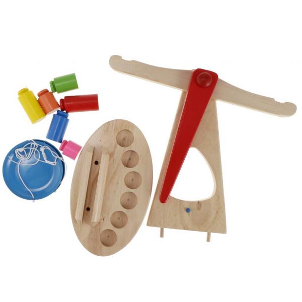 Jucarie balanta din lemn. [2]