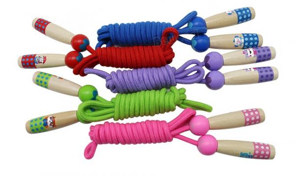 Coarda de sarit pentru copii si adulti-diverse culori . 1