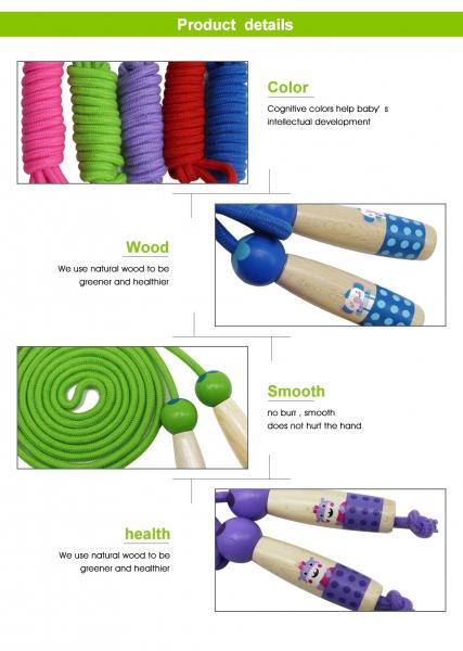 Coarda de sarit pentru copii si adulti-diverse culori . 3
