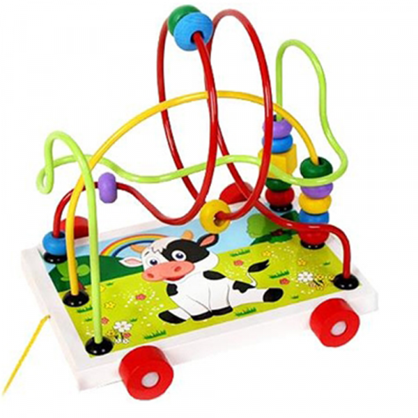 Labirint din lemn jucarie Montessori [0]