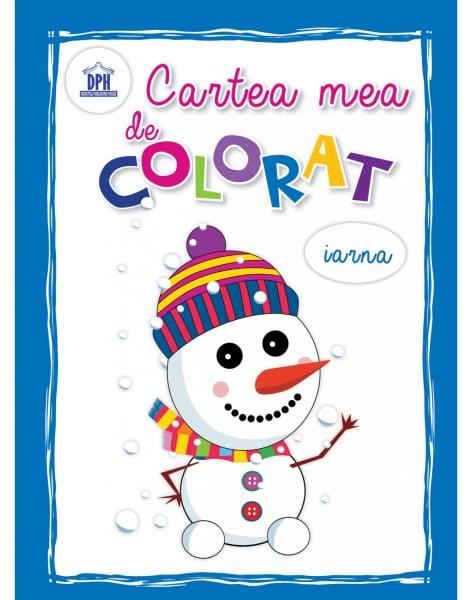CARTEA MEA DE COLORAT - IARNA 0