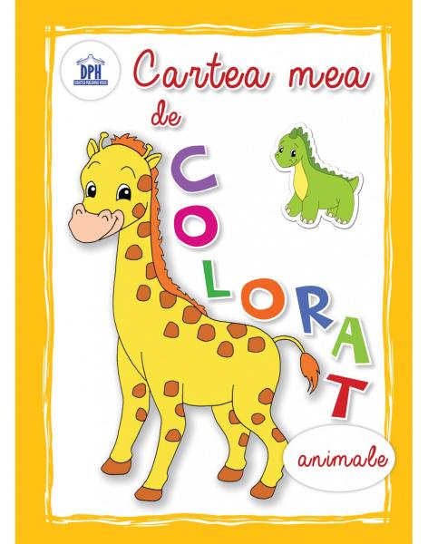 CARTEA MEA DE COLORAT - ANIMALE [0]