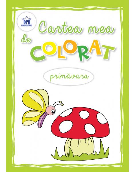 CARTEA MEA DE COLORAT - PRIMAVARA 0