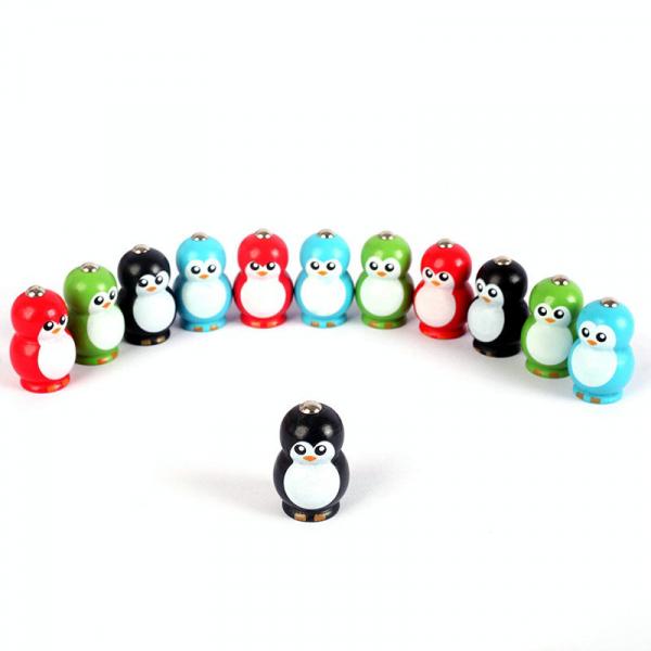 Joc lemn educativ pescuit pinguini 1