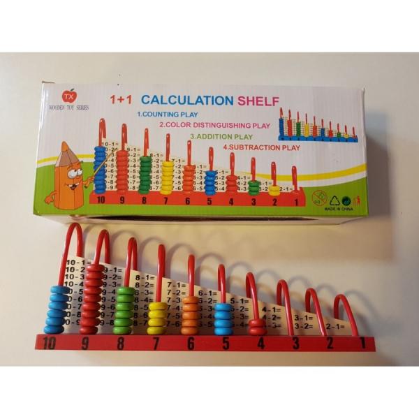 Abac din lemn cu operatii matematice [2]