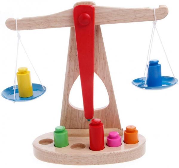 Jucarie balanta din lemn. [0]