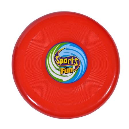 Disc Frisbee rosu 25 cm [0]