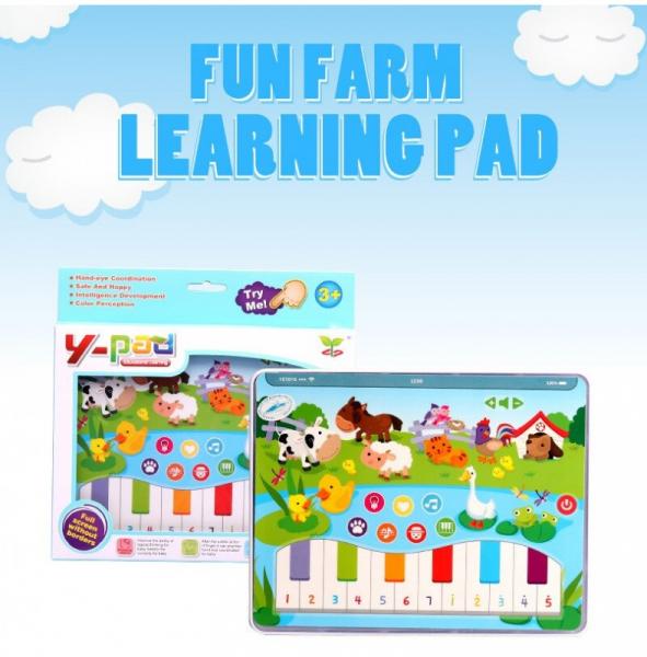 Jucarie interactiva Tableta cu animalute de la ferma 2