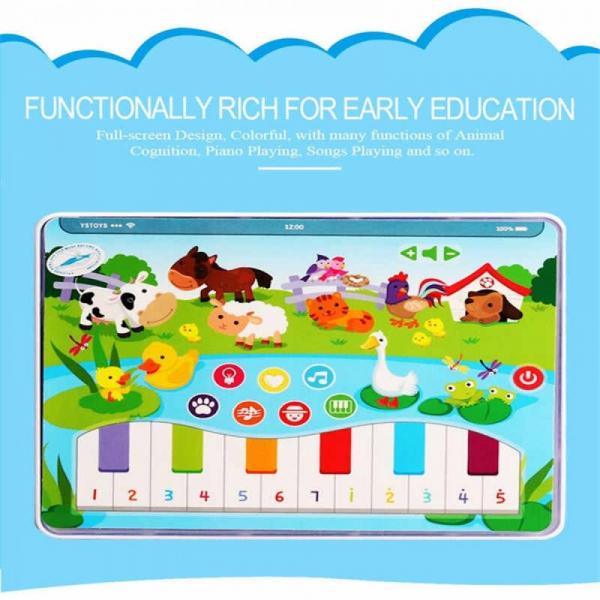 Jucarie interactiva Tableta cu animalute de la ferma 3