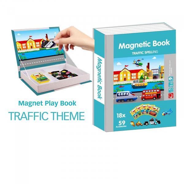 Carte magnetica  dezvoltarea abilitatilor Trafic cu mijloace de transport 0