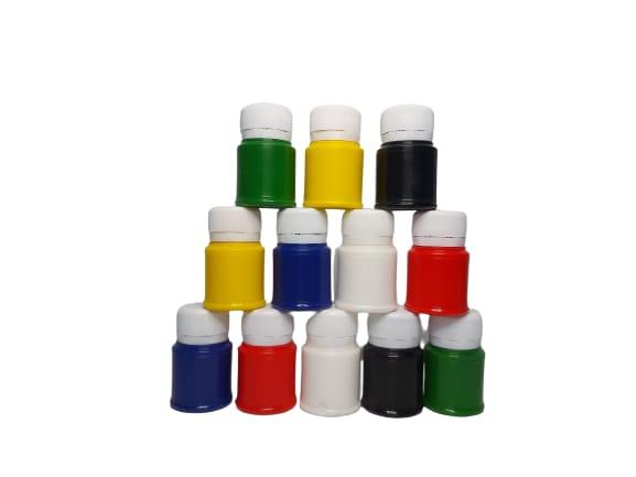 Acuarele guase 6 recipiente de 30 ml romanesti - Cretorom 3