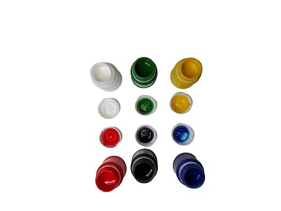 Acuarele guase 6 recipiente de 30 ml romanesti - Cretorom 2