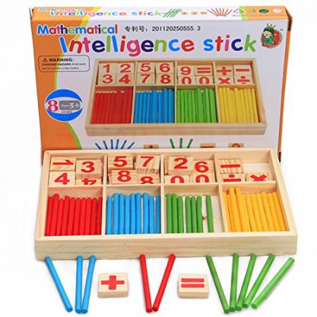 Joc din lemn Invatam operatiile matematice0
