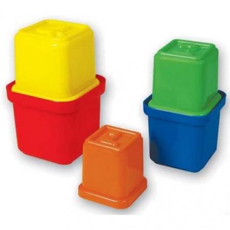 Turn de stivuit multicolor -9 cupe cu numere de la 0 la 9 [2]