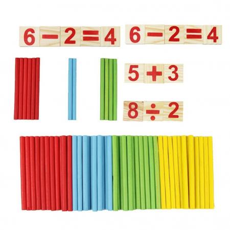Joc din lemn Invatam operatiile matematice4