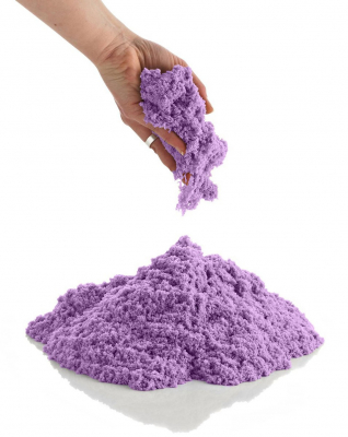 Nisip kinetic colorat 1 kg cu forme de modelaj [5]