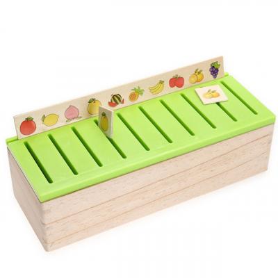 Joc Montessori In limba Romana de sortare si asociere cu 88 de piese din lemn3