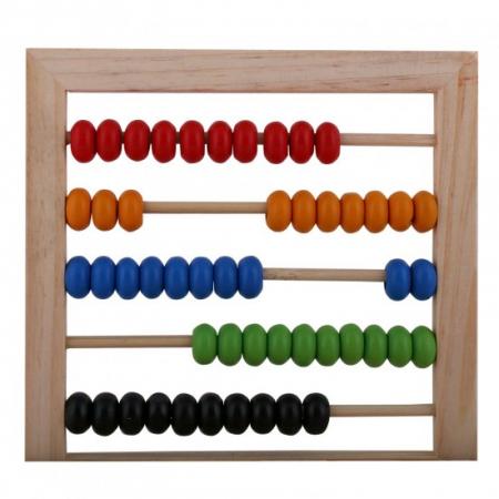 Numaratoare din lemn Montessori cu cifre litere si operatii matematice [1]