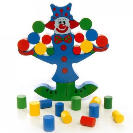 Clovnul in echilibru - Joc de indemanare pentru copii0
