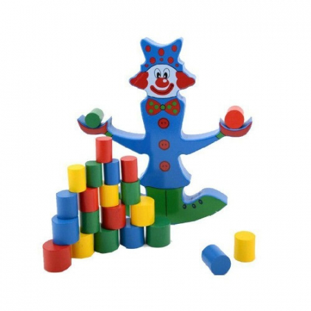 Clovnul in echilibru - Joc de indemanare pentru copii1