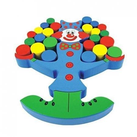 Clovnul in echilibru - Joc de indemanare pentru copii2
